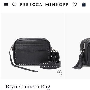 Rebecca Minkoff Bryn Camera Bag Studded Black NEW